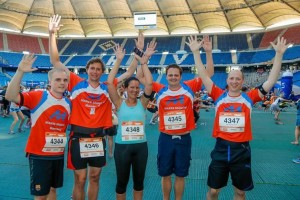 Mares Shipping beim B2Run Hamburg
